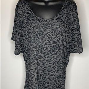 Michael Kors scoop-neck dressy blouse
